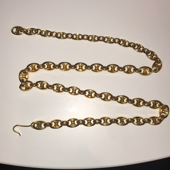 468a4209033b7 Accessories | Goldtone Celine Chain Belt | Poshmark